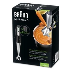 Verpackung und Mixbecher Braun MQ7